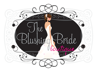 The Blushing Bride boutique logo