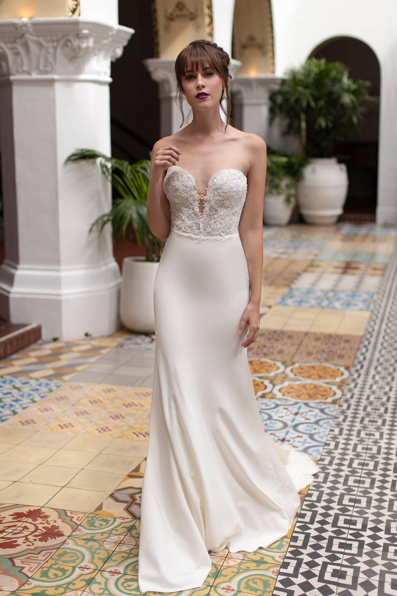 Less is More, Simply Stated Wedding Gowns
