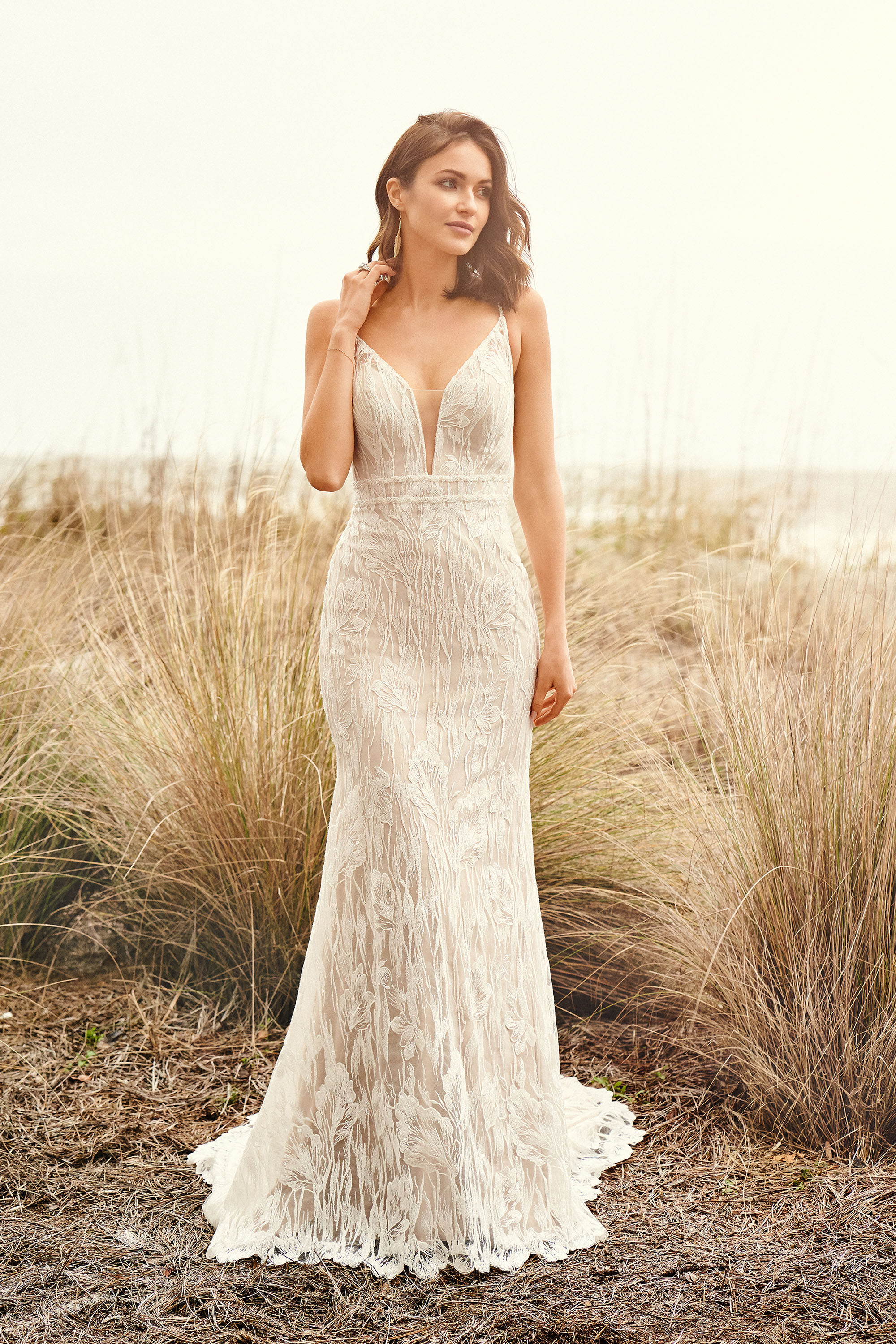 Lillian West Boho Chic And Romantic Wedding Gowns The Blushing